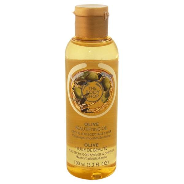The Body Shop Olive Beautifying Oil For Body, Face & Hair