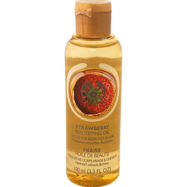 The Body Shop Strawberry Beautifying Oil For Body, Face & Hair
