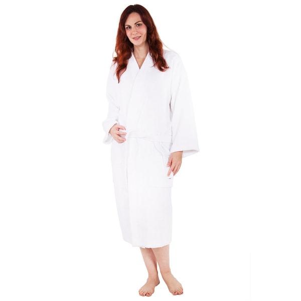 100-percent Pure Turkish Cotton Terry Kimono Bathrobe Four Colors