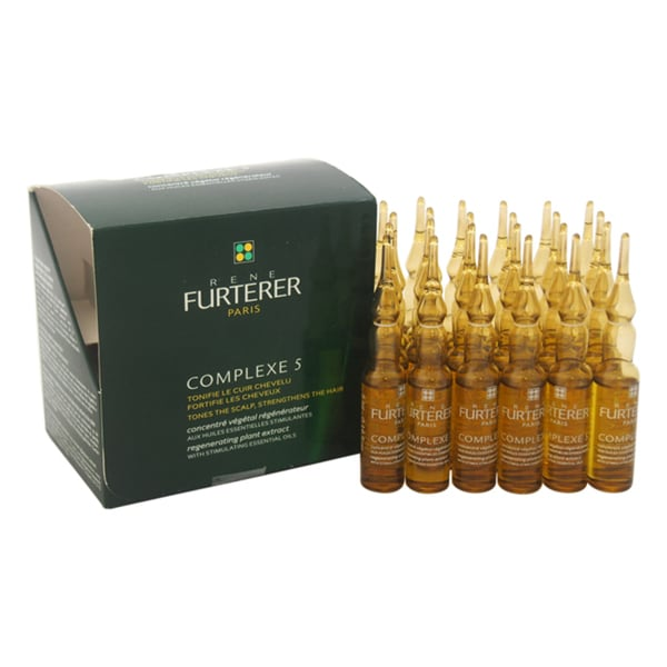 Rene Furterer Complexe 5 Regenerating Plant Extract 24 x 5 ml Treatment