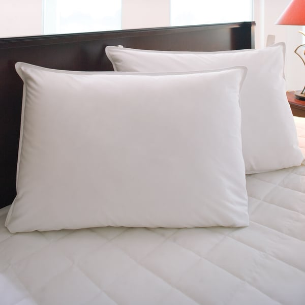 Hotel Resort Twin Pack Hypoallergenic Down Alternative Easy Care Pillows 230 TC (Pack of 2)