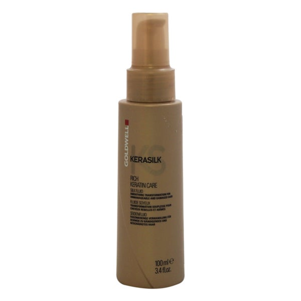 Goldwell Kerasilk Rich Keratin Care 3.4-ounce Silk Fluid