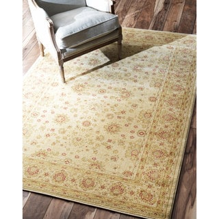 nuLOOM Traditional Persian Ziegler Keshan Cream Rug (9' x 12')