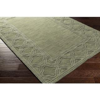 Handmade Halstead Wool Rug (8' x 11')