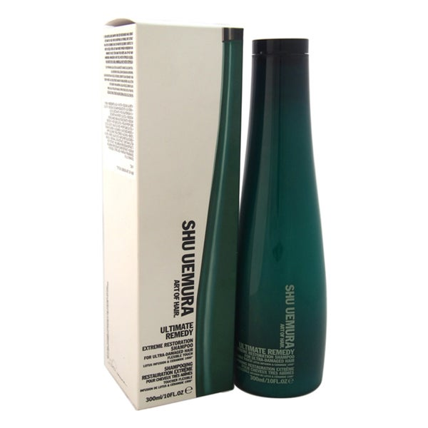Shu Uemura Ultimate Remedy Extreme Restoration 10-ounce Shampoo