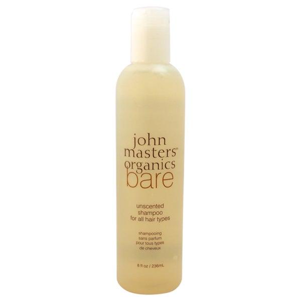John Masters Organics Bare Unscented 8-ounce Shampoo