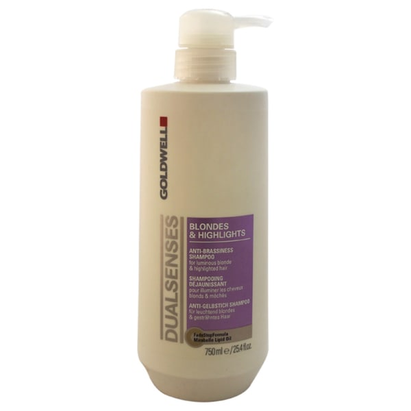 Goldwell Dualsenses Blondes & Highlights Anti-Brassiness 25.4-ounce Shampoo