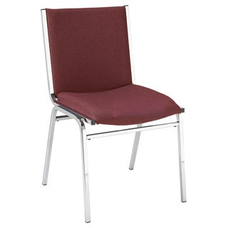 420 Upholstered Armless Stacking Chair