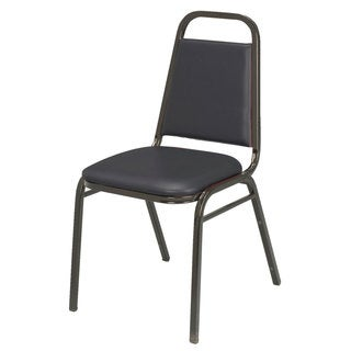 IM810 Vinyl Armless Stacking Chair