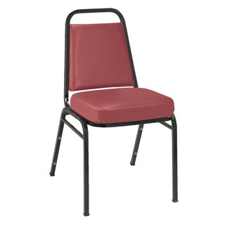 IM820 Vinyl Armless Stacking Chair