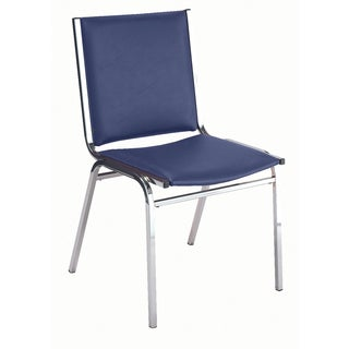 410 Vinyl Upholstered Armless Stacking Chair