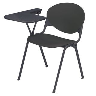 Polypropylene Stacking School Chair with Right Writing Tablet