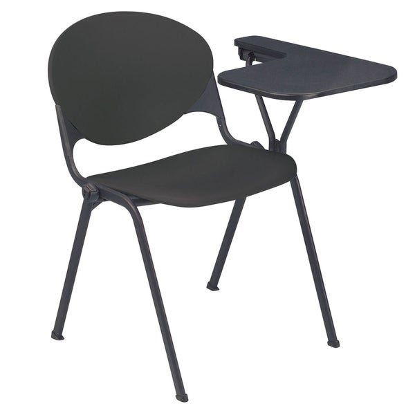 Polypropylene Stacking School Chair with Left Writing Tablet