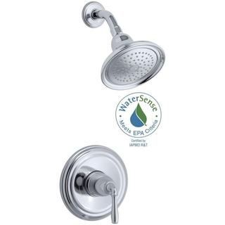 Kohler Devonshire 1-Handle Shower Faucet Trim with Rite-Temp Pressure Balancing in Polished Chrome (Valve Not Included) - 2 GPM