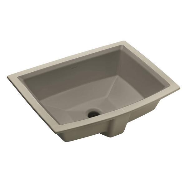 KOHLER Archer Undermount Bathroom Sink in Cashmere - 17605469 ...
