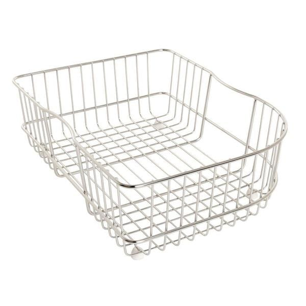 Kohler Efficiency 15-3/4 inch Rinse Basket for Right-Hand Basin Sinks in Stainless Steel