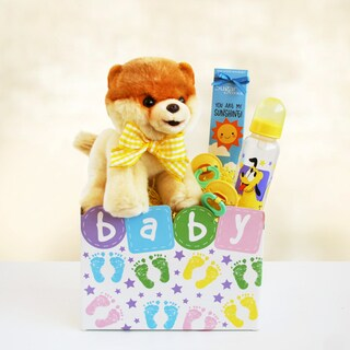 Boo Baby Box Gift Basket