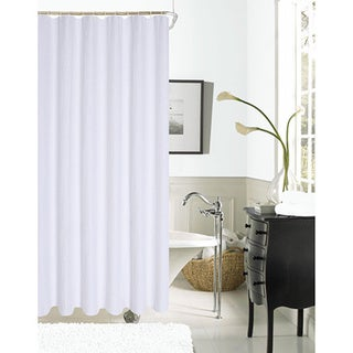 Spa 251 Waffle Shower Curtain by Dainty Home (As Is Item)
