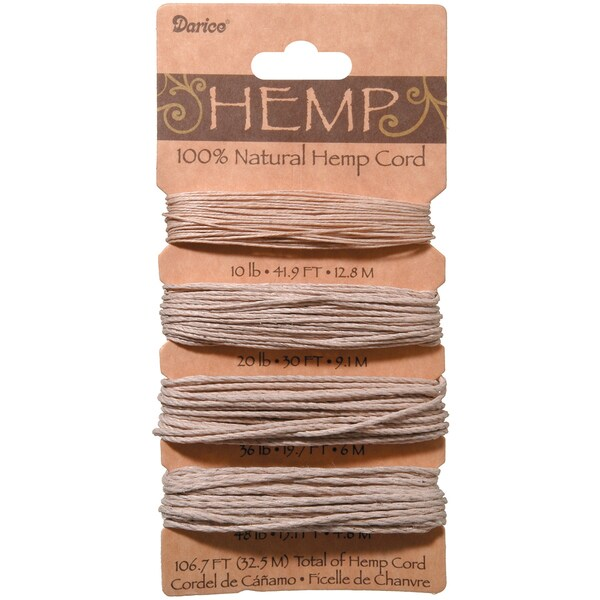 Hemp Cord 106.7'Natural