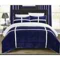 Chic Home Chiron Mink Sherpa Lined 7-piece Bed in Bag Set