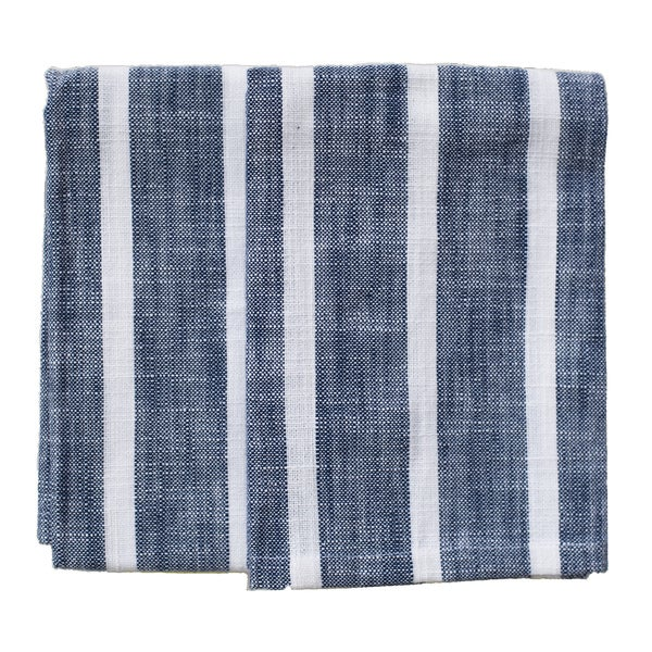 Dobby Stripe Blue Kitchen Towels (Set of 2)