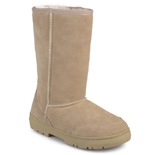 Brumby Women's 'Shear' Fleece Lined Microsuede Boots