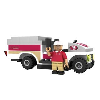 Oyo NFL San Francisco 49ers 135-Piece Trainer Cart Building Set