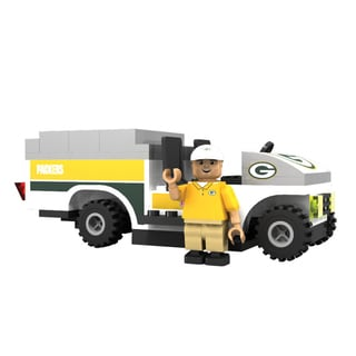 Oyo NFL Green Bay Packers 135-Piece Trainer Cart Building Set
