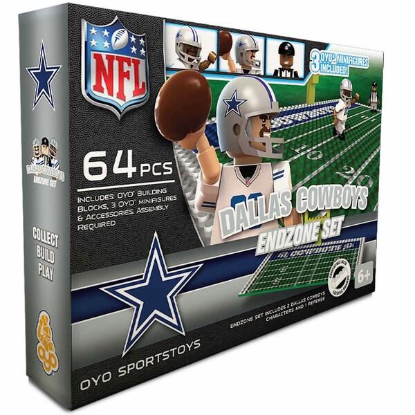 Oyo NFL Dallas Cowboys 64-Piece End Zone Building Set 16168469