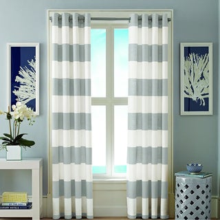 Nautica Cabana Grommet 84-inch Curtain Panel Pair