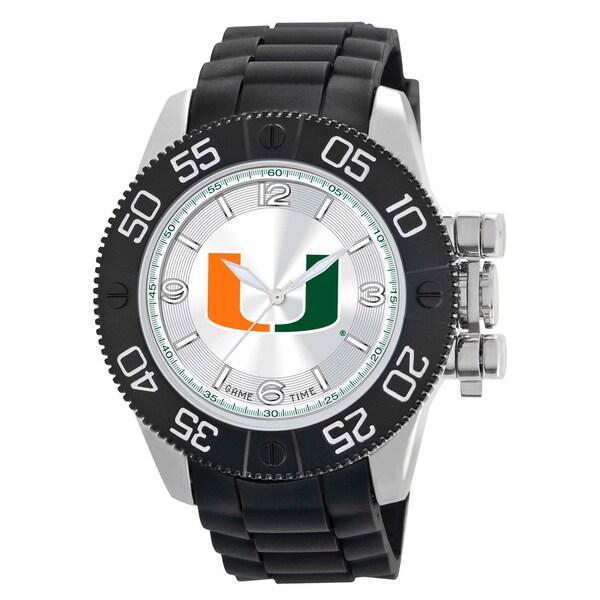 Game Time Miami Hurricanes NCAA Men's Beast Watch 16168728