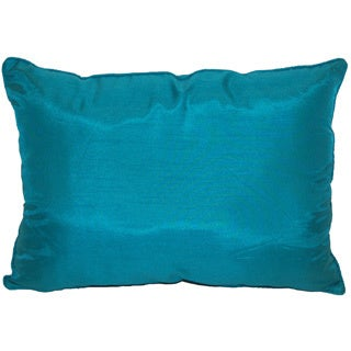 Faux Silk 12-inch Decorative Throw Pillow