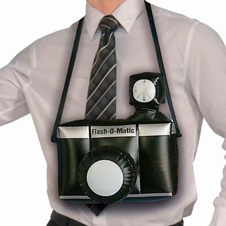 Jumbo Inflatable Camera Costume Accessory Prop
