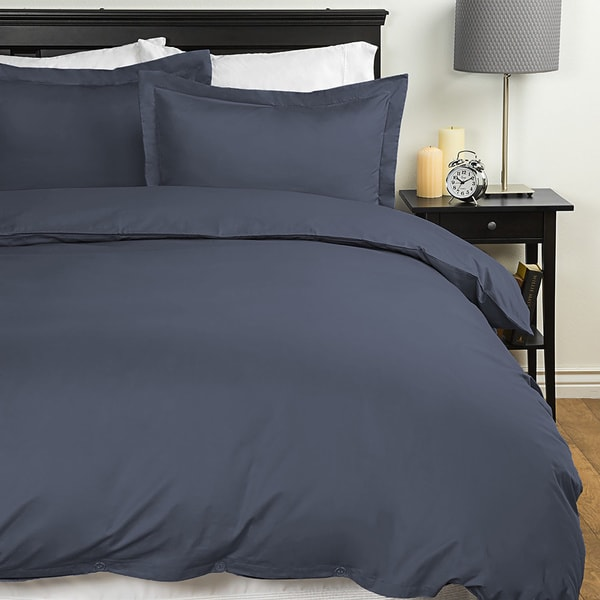 Merit Linens Extra Soft 3-piece Twin / Twin XL Duvet Cover Set (As Is Item)