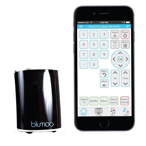 Blumoo Smart Remote Control, 48 Devices