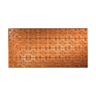 Fasade Traditional Style #2 Antique Bronze Wall Panel (4'x8')