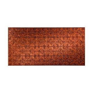Fasade Traditional Style #2 Moonstone Copper Wall Panel (4'x8')
