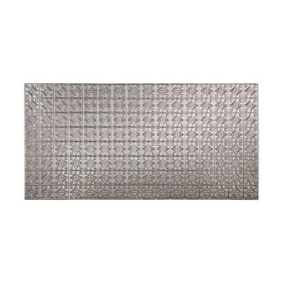 Fasade Traditional Style #1 Galvanized Steel Wall Panel (4'x8')