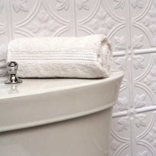 Fasade Traditional Style #1 Matte White Wall Panel (4'x8')