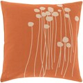 Decorative Carlie Floral 18-inch Throw Pillow