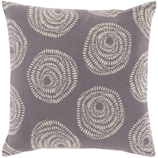 Lotta Jansdotter Decorative Cailyn Circles and Dots 18-inch Throw Pillow