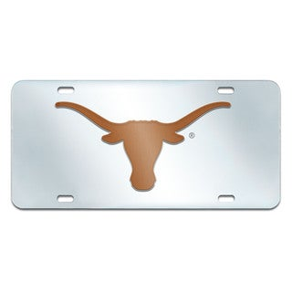 Fanmats Texas Longhorns Collegiate Acrylic License Plate Inlaid