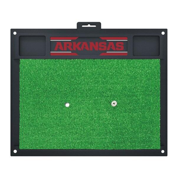 Fanmats Arkansas Razorbacks Golf Hitting Mat (Green)