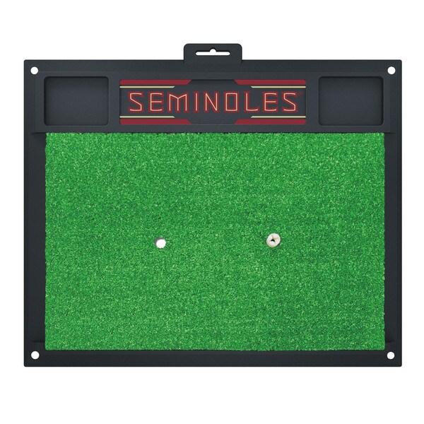 Fanmats Florida State Seminoles Golf Hitting Mat (Green)