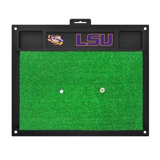 Fanmats LSU Tigers Green Rubber Golf Hitting Mat
