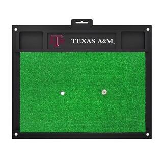 Fanmats Texas A&M Aggies Green Rubber Golf Hitting Mat