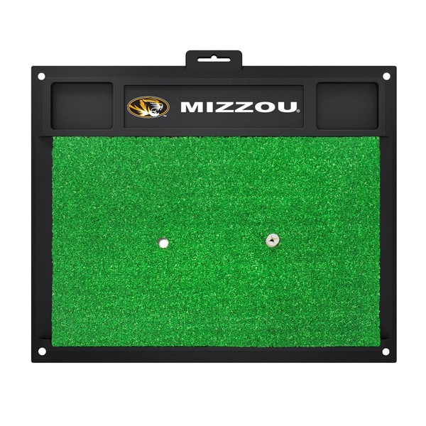 Fanmats Missouri Tigers Golf Hitting Mat (Green)