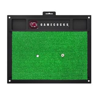 Fanmats South Carolina Gamecocks Green Rubber Golf Hitting Mat