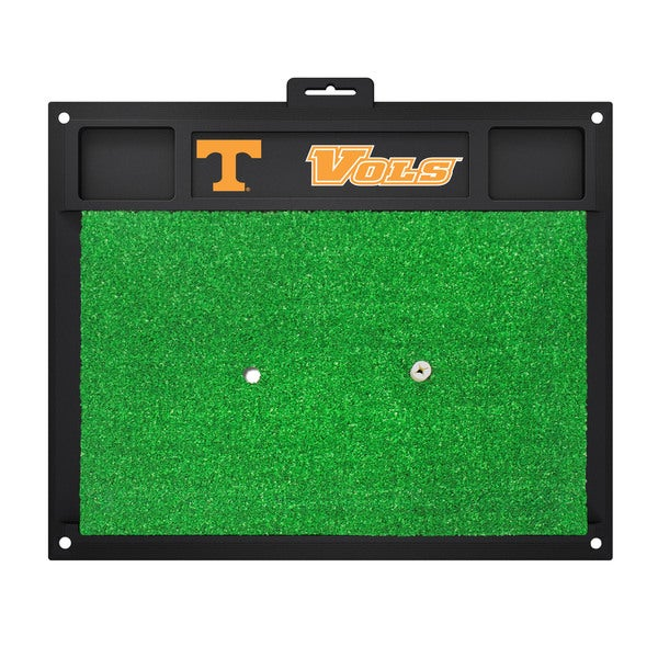 Fanmats NCAA Tennessee Volunteers Golf Hitting Mats - Green/Black
