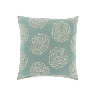 Lotta Jansdotter Decorative Cailyn Circles and Dots 20-inch Throw Pillow